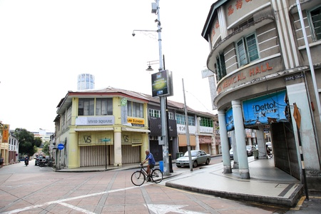 Historic Georgetown, Penang, Malaysia