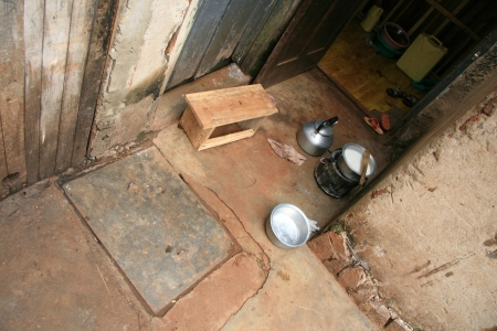 Simple Cooking Area in a House - Jinja Town in Uganda - The Pearl of Africa photo