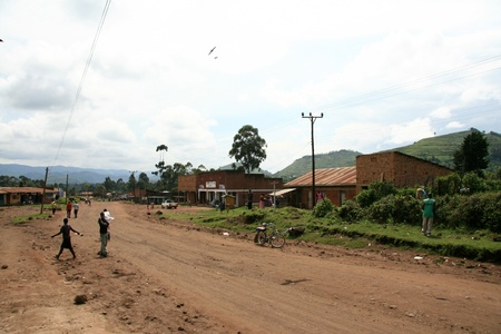 kisoro: Winding Road Leading Through Kisoro District in Uganda - The Pearl of Africa Editorial