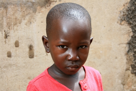 ugandan: African Girl in Uganda - The Pearl of Africa Editorial