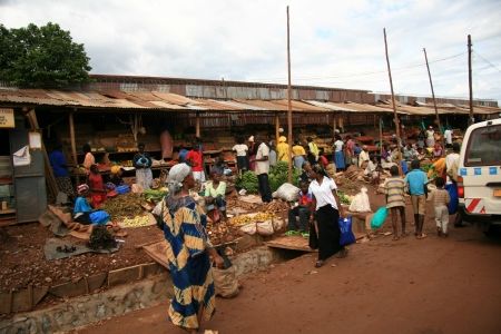 shanty: Shanty Town in Kampala, Uganda - The Pearl of Africa
