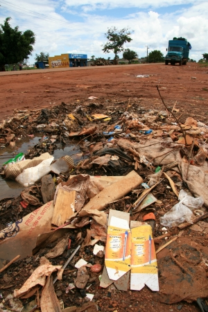 kampala: Pollution on the Streets of Kampala, Uganda - The Pearl of Africa