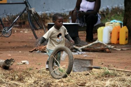 Shanty Town in Kampala, Uganda - The Pearl of Africa