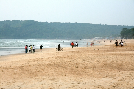 Tropical Goa on West Coast of India