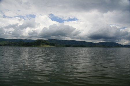 Lake Bunyoni, Kisori District, Uganda in East Africa Stock Photo - 14625242