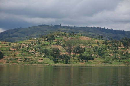 Lake Bunyoni, Kisori District, Uganda in East Africa Stock Photo - 14625102