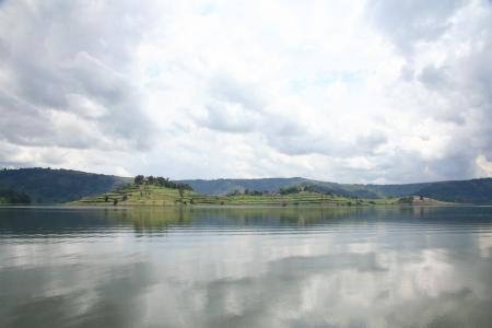 Lake Bunyoni, Kisori District, Uganda in East Africa Stock Photo - 14625248