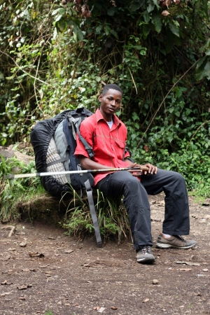 local supply: Mt Kilimanjaro climbing expedition in Tanzania, Africa