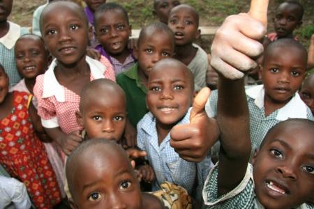 Local School in Uganda in Ostafrika