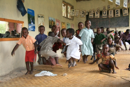 ugandan: Local School in Uganda in East Africa Editorial