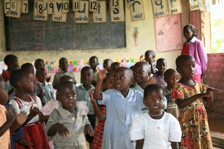 Local School in Uganda in East Africa Editorial