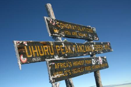 kilimanjaro: The Snowy Peak of Mt Kilimanjaro in Tanzania, Africa