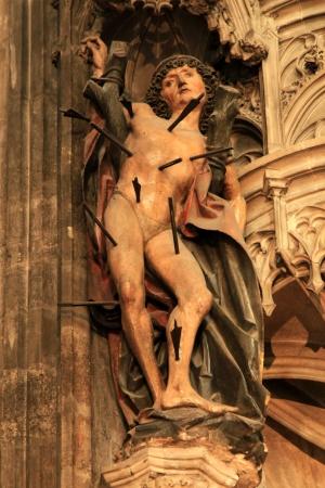 martyr: Inside Stephansdom (Saint Stephens Cathedral) - Vienna, Austria