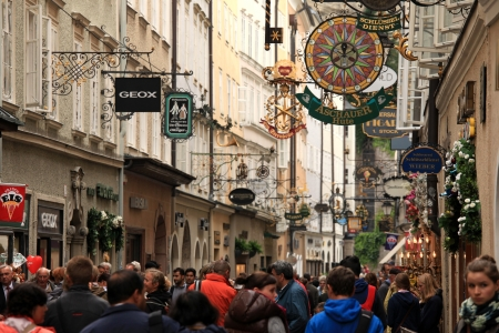 Salzburg City in Austria, Europe