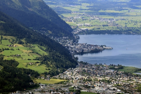 Lago Zeller See, Zell Am See, Austria photo