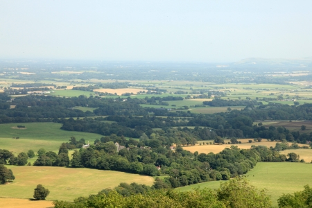 English Countryside at South Downs in Southern UK Stock Photo - 15060749