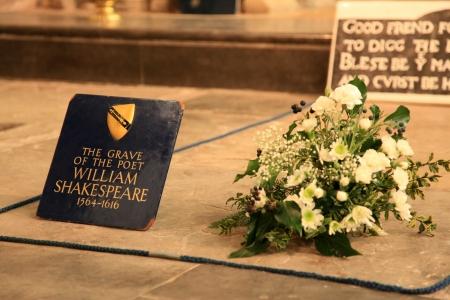 avon: Shakespeares Grave - Stratford Upon Avon