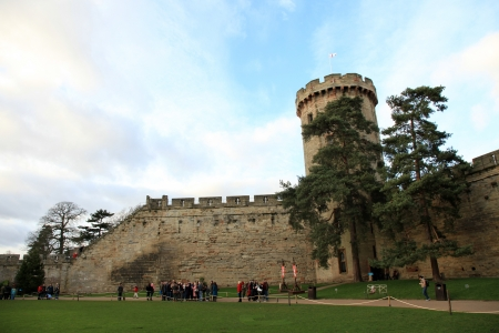 Warwick Castle in England, UK