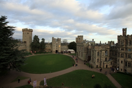 Warwick Castle in England, UK Stock Photo - 15055123