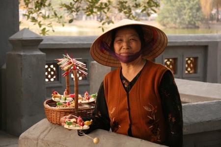 pointy: Historic Ngoc Son Temple in Hanoi, Northern Vietnam