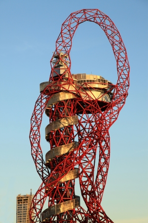 anish: LONDON - SEPT 07: Orbit Tower in Olympic Park during the Paralympics on September 07, 2012, in London, England.