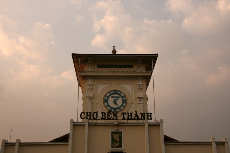 Ben Thanh Market in Ho Chi Minh City - Vietnam photo