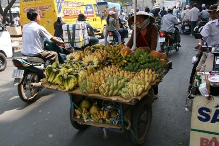 genuine good: Cholon (Chinatown) in Ho Chi Minh, Vietnam Editorial