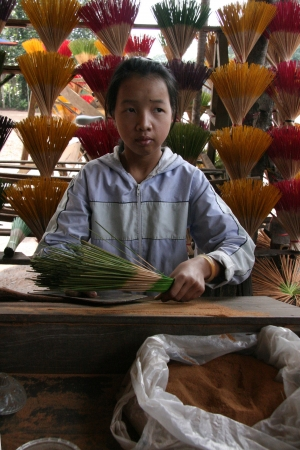 hue: Handicrafts in Shop in  Hue, Vietnam Editorial