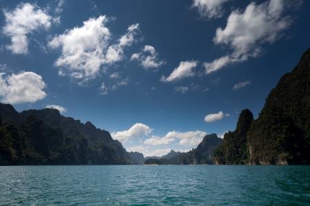 Chiao Lan Lake at Khao Sok National Park, Thailand Stock Photo - 18643888