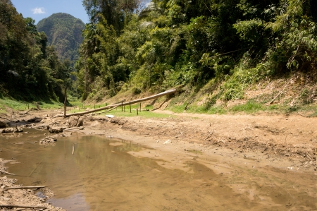 River at Khao Sok National Park, Thailand Stock Photo - 18646975