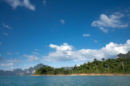Chiao Lan Lake at Khao Sok National Park, Thailand Stock Photo - 18644168