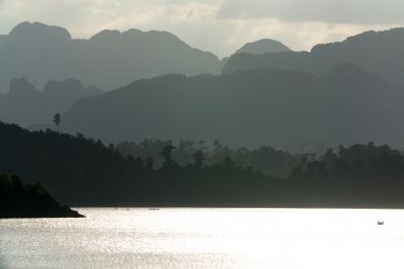 Chiao Lan Lake at Khao Sok National Park, Thailand Stock Photo - 18643895