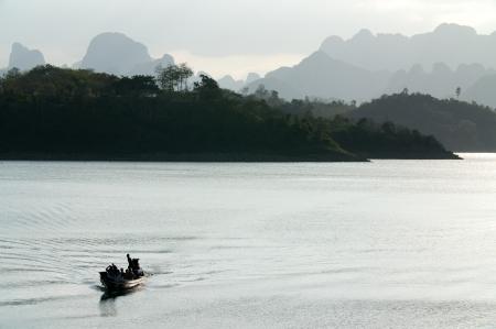 Chiao Lan Lake at Khao Sok National Park, Thailand Stock Photo - 18643890