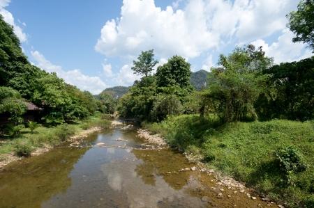 River at Khao Sok National Park, Thailand Stock Photo - 18647504