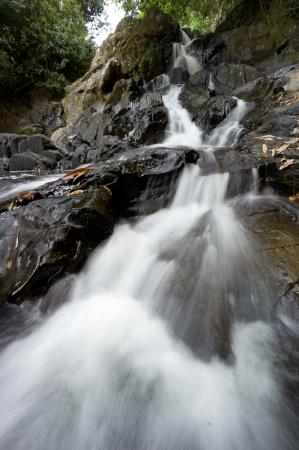 chan: Sipet Chan Waterfall at Khao Sok National Park, Thailand