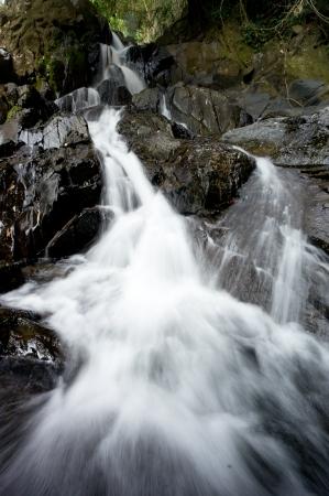 Sipet Chan Waterfall at Khao Sok National Park, Thailand Stock Photo - 18647507
