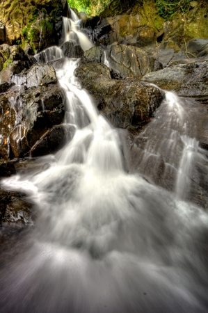 Waterfall at Khao Sok National Park, Thailand Stock Photo - 18647476