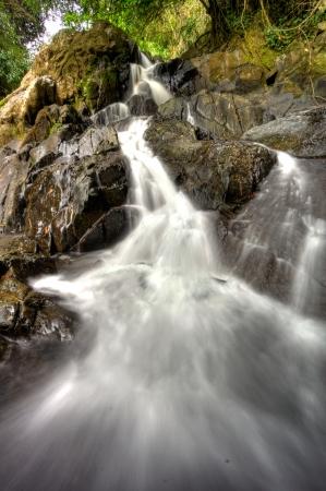 Waterfall at Khao Sok National Park, Thailand Stock Photo - 18647471