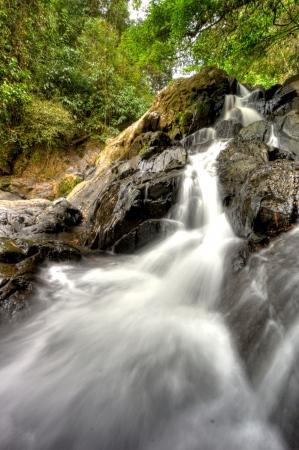 Waterfall at Khao Sok National Park, Thailand photo