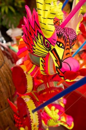 BANGKOK - FEBUARY 10 : Chinese New Year 2013 - Dragon Souvenir in Chinatown, Bangkok, Thailand on 10th Febuary 2013