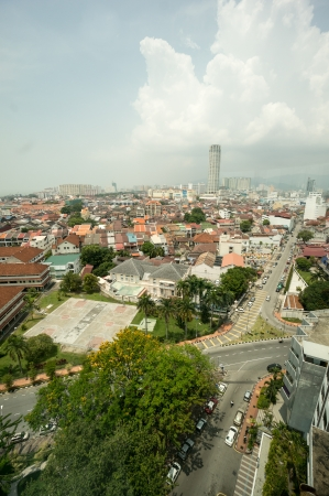 georgetown: Penang Cityscape View in Mallaysia