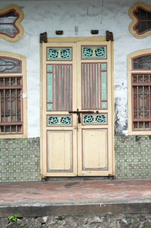 georgetown: Georgetown in Penang UNESCO Heritage Area in Malaysia Editorial