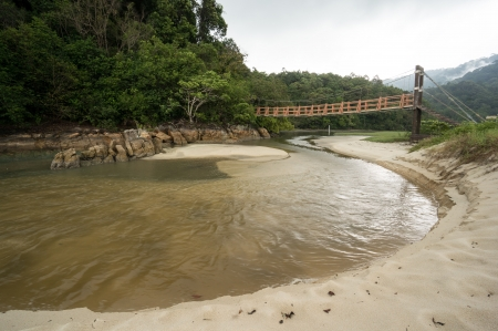 Meromictic Lake in National Park in Penang, Malaysia Stock Photo - 19193130