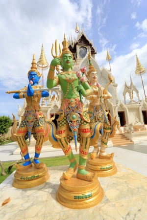 Phetchaburi Temple - cultural town in Thailand photo