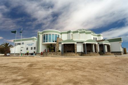 survives: SWAKOPMUND, NAMIBIA - OCTOBER 29 2013: The National Marine Aquarium survives a year of drought in Swakompund, Namibia, Africa