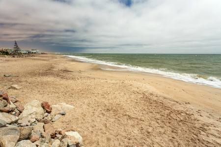 ocea: Seascape at Swakompund Coastal Town in Namibia, Africa