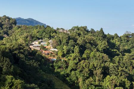 fa: Scenic Landscape at Phu Chi Fa, North Thailand