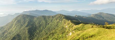 ridgeline: Scenic Landscape at Phu Chi Fa, North Thailand