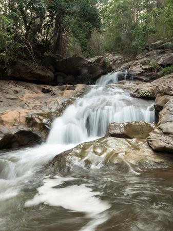 namtok: Mae Sa Waterfall National Park in Northern Thailand