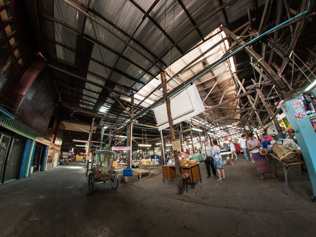 ming: The authentic ming muang market in Chiang Mai Editorial